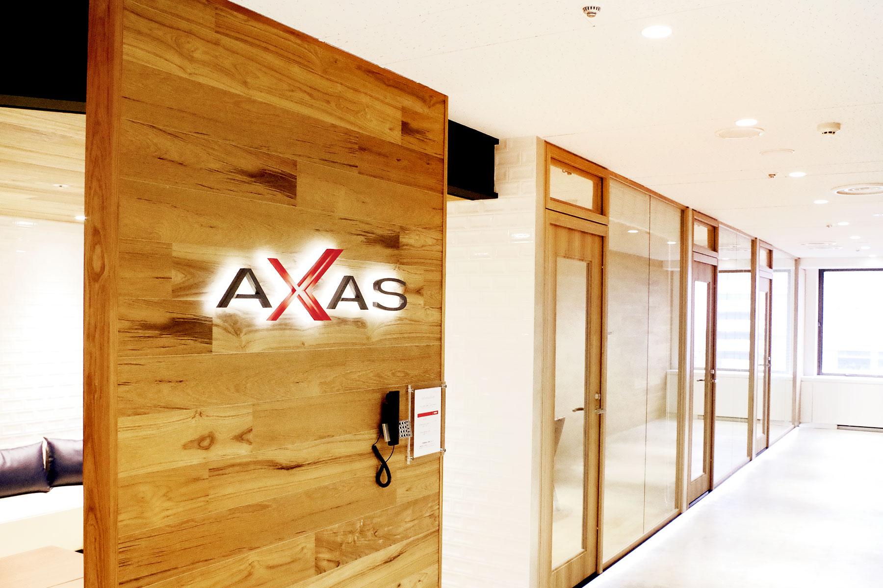アクサス株式会社のトップ画像