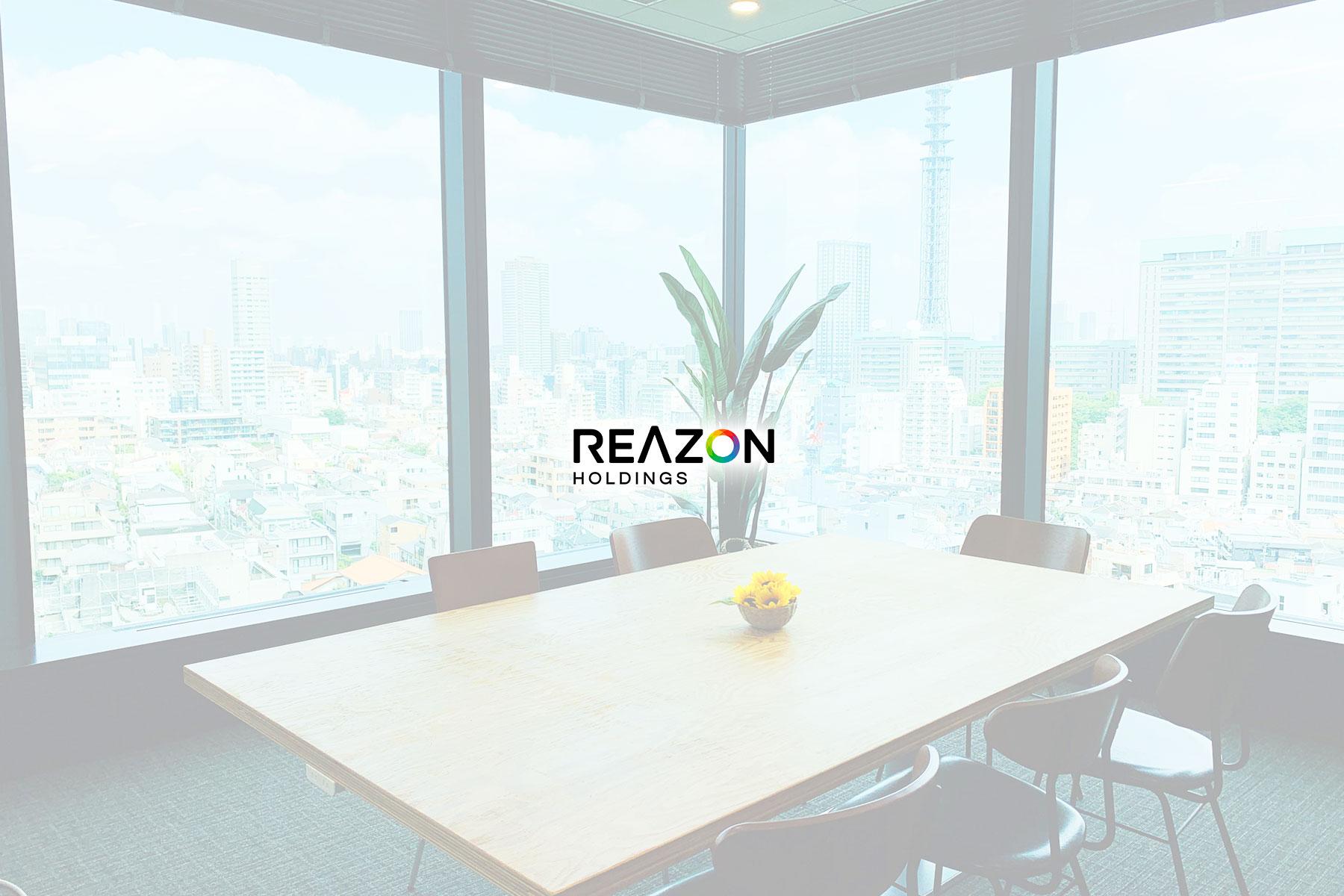 株式会社レアゾン・ホールディングスのトップ画像